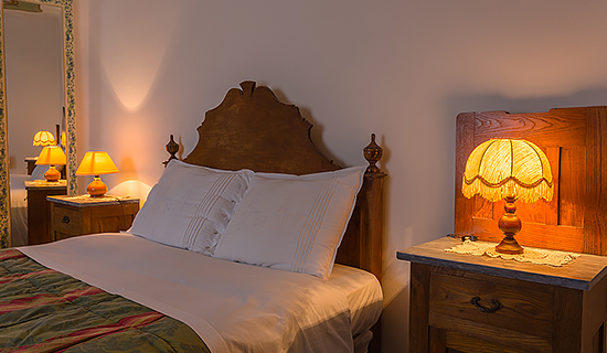 Cozy rooms of the b&b Sotto il Castello